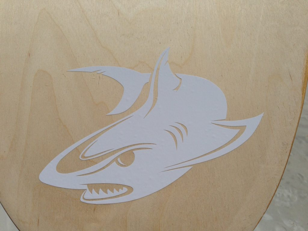 Car Decal Geek Shark