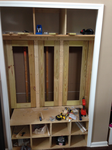 The Reason Why I Wanted A Few More Inches Of Depth Is Because I Still  Wanted To Utilize The Area As A Small Closet. That Would Mean I Need To  Build Doors: